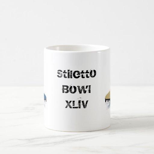 Stiletto Bowl XLIV Coffee Mugs