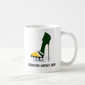 Stiletto Bowl XLV Pink Sparkly Cheesy Mug