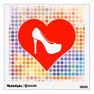 Stiletto Gift Room Sticker