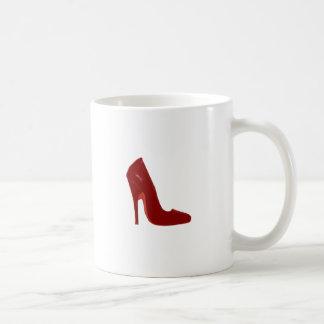 Stiletto Heel Right Side Red The MUSEUM Zazzle Gif Classic White Coffee Mug