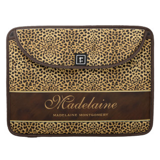 Stiletto Heel with Cheetah Print Sleeves For MacBook Pro