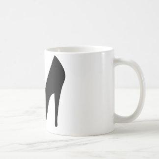 stiletto high heeled shoe icon mug