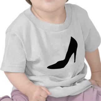 stiletto high heeled shoe icon tees