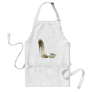 Stiletto Shoe and Compact Art Adult Apron