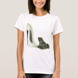 Stiletto Shoe and Frog Art Gifts T-Shirt