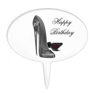 Stiletto Shoe Art Cake Toppers