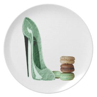 Stiletto Shoe Art Plates