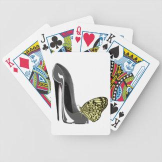 Stiletto Shoe Art Playing Card Decks
