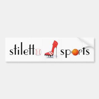 Stiletto Sports Official Car Bumper Sticker
