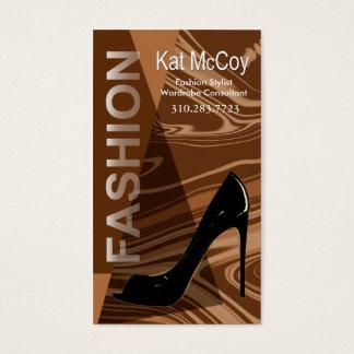 """""""Stiletto Style"""" - Fashion Stylist, Designer Business Card"""