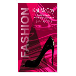 """Stiletto Style"" - Fashion Stylist, Designer Business Cards"