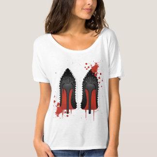 Stilettos spatters drips T-Shirt