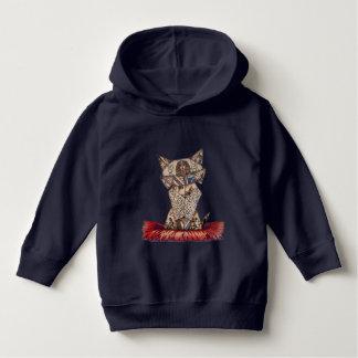 Stilish cat lover egyptian baby  sleeveless hoodie