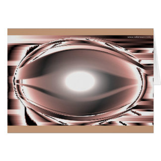 Stilized eye  card