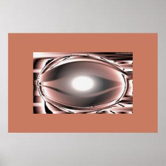 Stilized eye poster