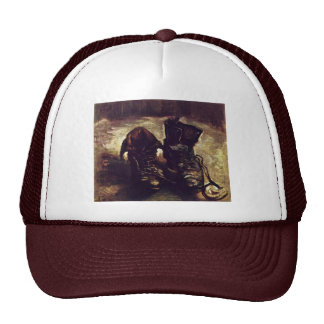 Still A Pair Of Shoes By Vincent Van Gogh Trucker Hat