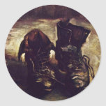 Still A Pair Of Shoes By Vincent Van Gogh Stickers