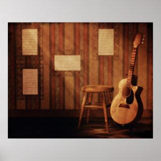 Still Acoustic Poster