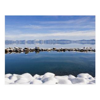 Still as glass, Lake Tahoe... Postcard