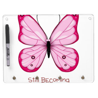 Still Becoming Dry Erase Board With Keychain Holder