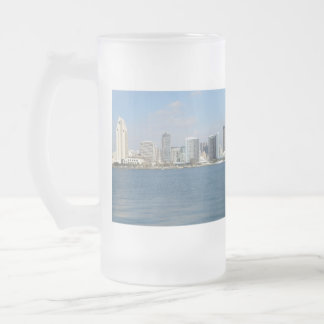 Still Clean San Diego Beaches Frosted Glass Beer Mug