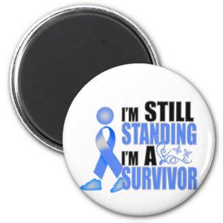 Still Colon Cancer Survivor 2 Inch Round Magnet