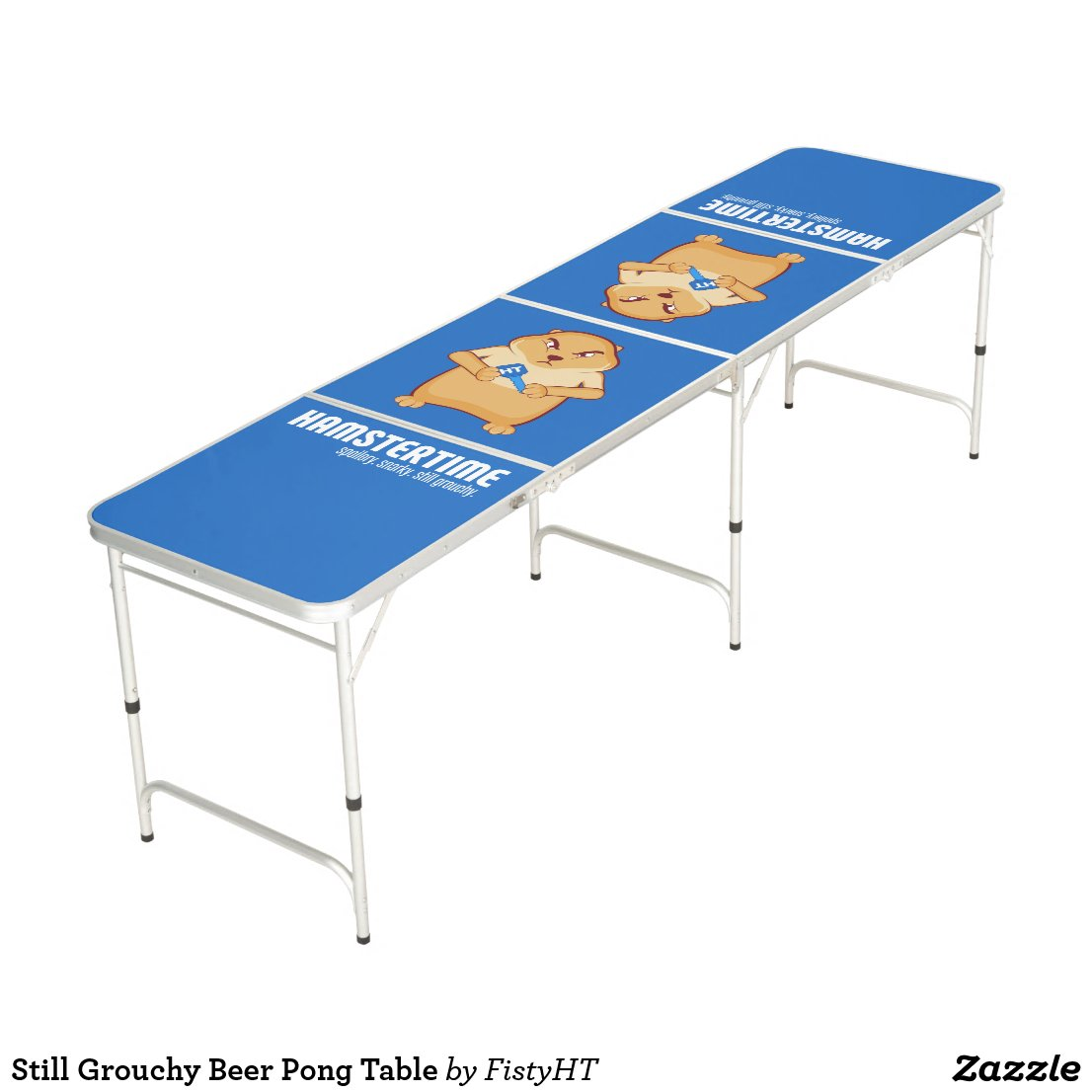 Still Grouchy Beer Pong Table