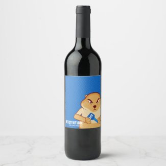 Still Grouchy Wine Label