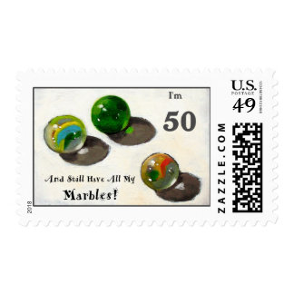 STILL HAVE MY MARBLES AT FIFTY STAMPS