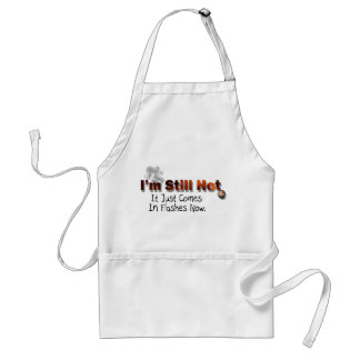 Still hot adult apron