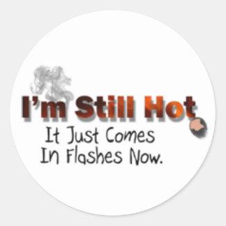 Still Hot Classic Round Sticker