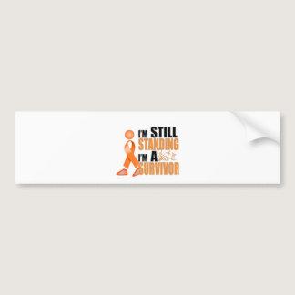 Still Leukemia Survivor Bumper Sticker