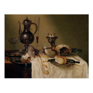 Still Life, 1642 Postcard