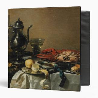Still Life, 1643 (oil on panel) 3 Ring Binder