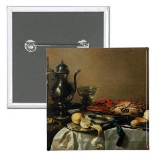 Still Life 1643 oil on panel Button