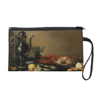 Still Life, 1643 (oil on panel) Wristlet Purse