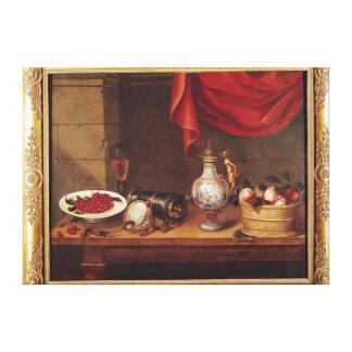 Still Life, 1653 Canvas Print