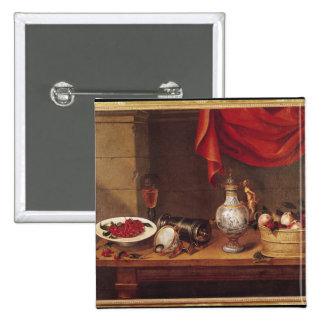 Still Life, 1653 Pinback Button