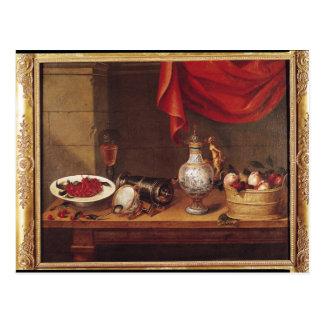 Still Life, 1653 Postcard