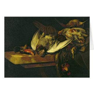 Still Life, 1663 Card