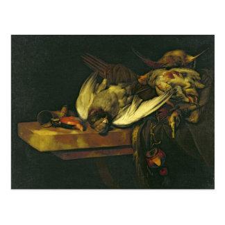 Still Life, 1663 Postcard