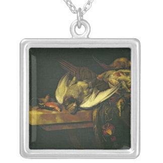 Still Life, 1663 Square Pendant Necklace