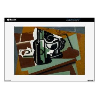 "Still Life, 1917 (oil on panel) 15"" Laptop Decals"
