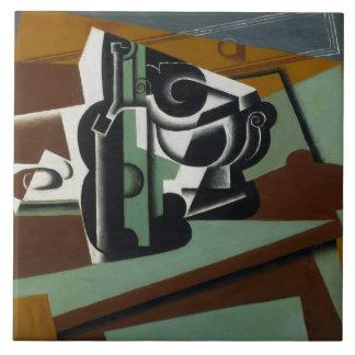 Still Life, 1917 (oil on panel) Ceramic Tile