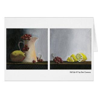 Still Life #7 by Desi Cameron Card