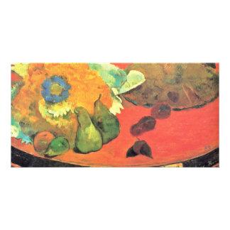 "Still Life ""Ã La Fête Gloanec"" """" By Gauguin Paul Customized Photo Card"