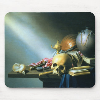 Still Life: An Allegory of the Vanities of Human L Mouse Pad