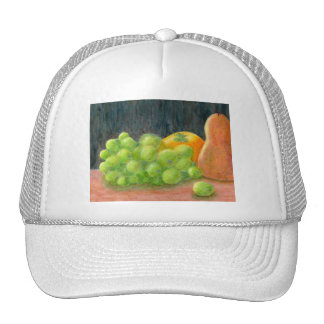 Still Life and Pear, Hat