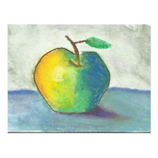 Still life Apple Postcard