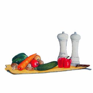 still life art mixed vegatables sculpture magnet
